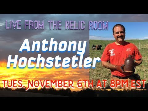 Live from the Relic Room Anthony Hochstetler