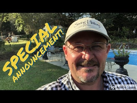 Metal Detecting SPECIAL ANNOUNCEMENT from Saving History™