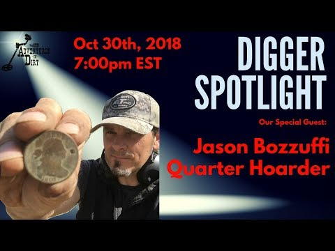 Digger Spotlight with Special Guest: Jason Bozzuffi from Quarter Hoarder