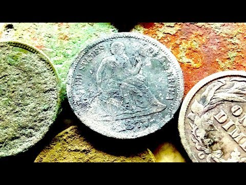 Street Tear Out Reveals LOST TREASURE of the Frontier! Metal Detecting Old and Silver Coins!