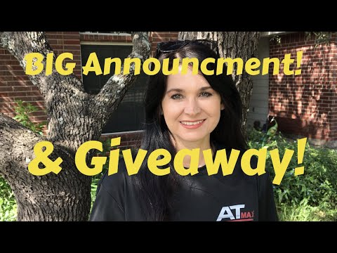 BIG ANNOUNCEMENT & Giveaway!