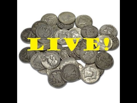 HALF DOLLAR SEARCHING with SUBSCRIBER HANGOUT? #coinrollhunting #5280adventures
