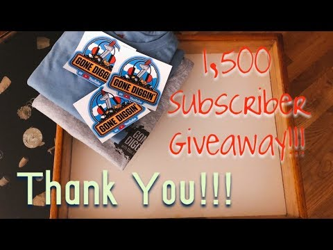 1,500 Subscriber Giveaway, Channel Update, and Mail Call