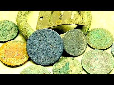 LOADS of Old Coins Found Metal Detecting a Street Tear Out! One of My Best Digs Ever!