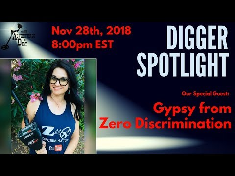 Digger Spotlight with Special Guest: Gypsy from Zero Discrimination on YouTube