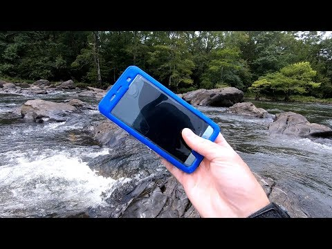 The Rainy River Hunt! – Found Phones, Rings and Knives!
