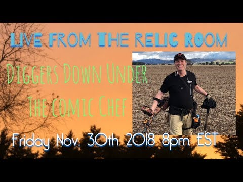 Live from the Relic Room featuring Neil from Diggers Down Under the Comic Chef