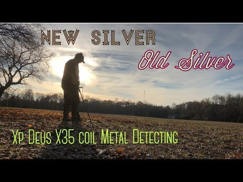 New Silver, Old Silver- Metal Detecting with the XP Deus X35 coil