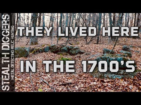 They lived here in the 1700's #267 what is left are the foundations & rock walls in NH