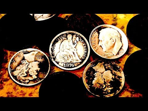 Treasure of the OLD WEST Found Metal Detecting a Frontier Town! Old Coins and Silver Abound!