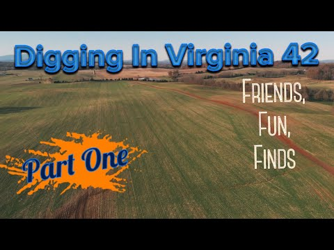 Metal Detecting at Digging In Virginia 42- Part 1