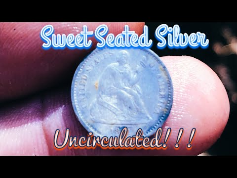 A Great Afternoon Metal Detecting- Sweet Seated Silver!