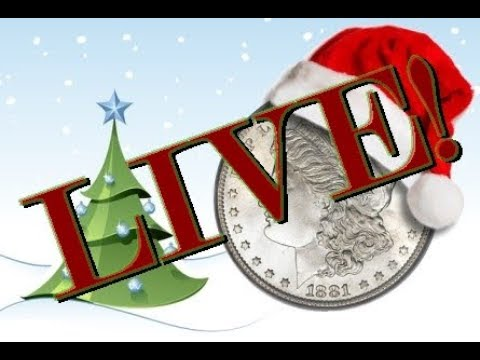 CHRISTMAS SUBSCRIBER HANGOUT WITH SILVER COIN GAW'S #coinrollhunting #5280adventures