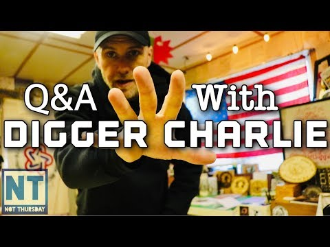 Q & A with Digger Charlie Stealth Diggers Not Thursday #99 Metal detecting relics hunting history