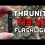 Thrunite TI3 V2 Flashlight review 120 lumens AAA cell mini bright -Not Thursday #106
