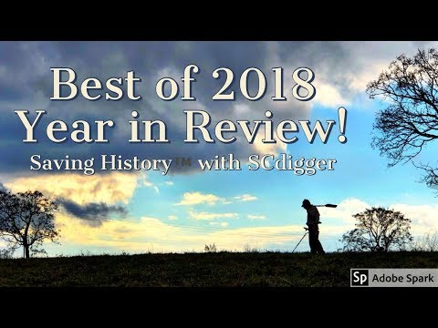 Best Metal Detecting Finds of 2018 // Saving History™ with SCdigger