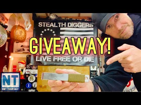 Stealth Diggers tool giveaway new & updates – Not Thursday #117 EDC mini pry bar pry tool