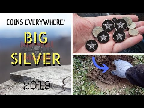 Coins Everywhere! Including BIG Silver!