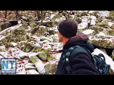 Looking for a mine on the side of a mountain in New England – Not Thursday #112 exploring hiking