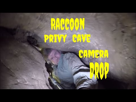 Dropping A Camera Down A Tight Cave Squeeze