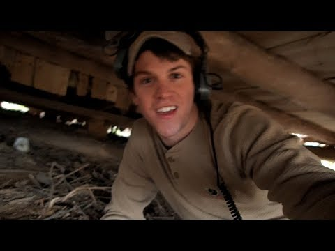 Metal Detecting Underneath The Abandoned House