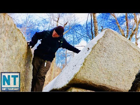 Where is the abandoned mine ? searching New England mountain – Not Thursday #113 Hiking exploring