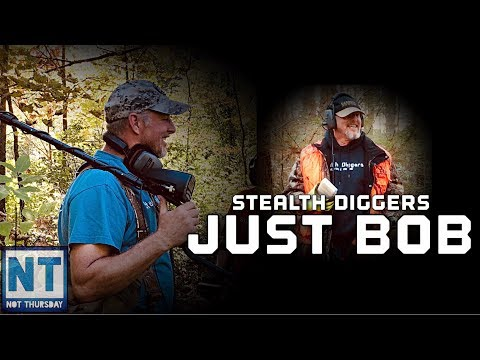 Just Bob of Stealth Diggers metal detecting relic hunting – Not Thursday #129 interview spotlight