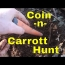 Colonial Copper Coin And Garrett Carrott Detecting