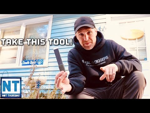 Take this tool from me ! Not Thursday #123 Stealth Diggers tool giveaway