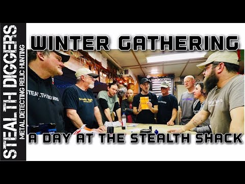 #279 Winter gathering at the stealth shack with Stealth Diggers – SDN packages