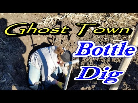 ghost town bottle digging
