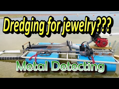 Coin and jewelry dredge modify and testing
