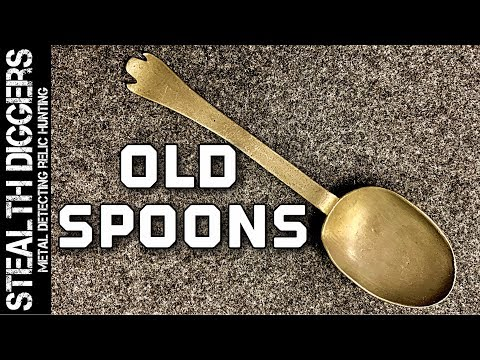 Lets talk about extremely old spoons from the 1600s 1700s