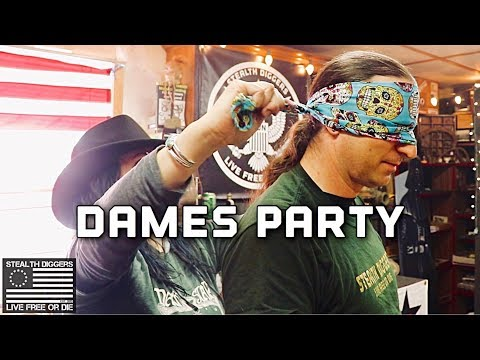 Digger Dames Birthday Stealth diggers throw a party in New Hampshire