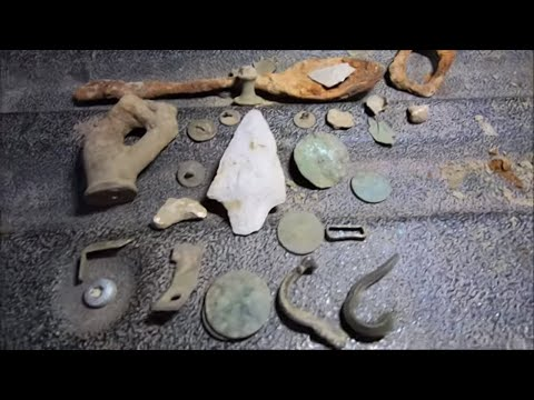 Metal Detecting Colonial Artifacts