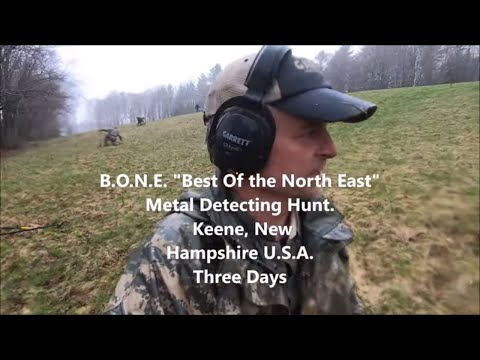 B.O.N.E :  Best Of New England  Metal Detecting Extravaganza!