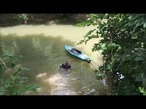 Aquachigger Recovers Stolen Property In Creek Magnet Fishing And Metal Detecting