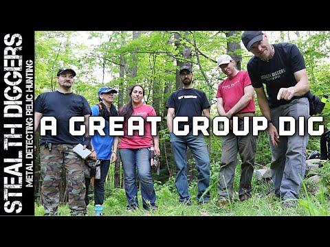Attack on a cellar hole with metal detectors ! SDN group dig