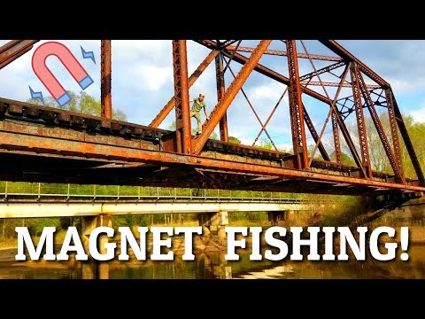 Magnet Fishing Gone Wrong (Game Warden Shows Up) – Dangerous Magnet Rescue!