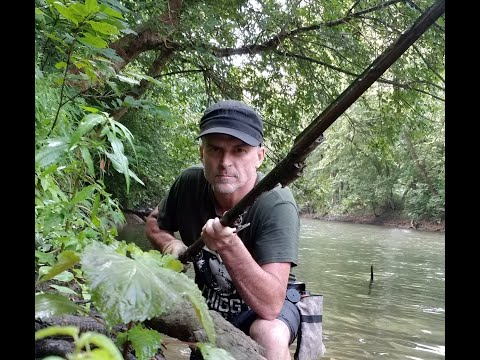 I FOUND A CIVIL WAR MUSKET WITH BAYONET IN THE RIVER!