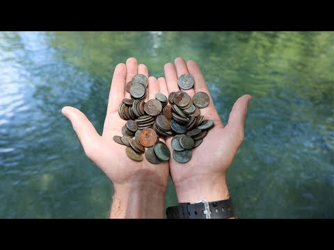 I Found Enough Coins Metal Detecting To Buy Us Lunch at Chick-Fli-A!