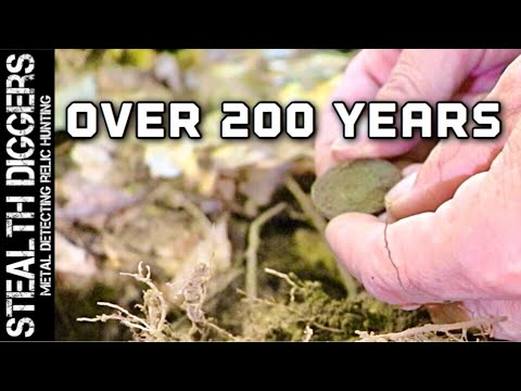 Relic hunting 200 year old sites metal detecting New England