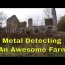 Exploring And Metal Detecting A Very Old Stone Home