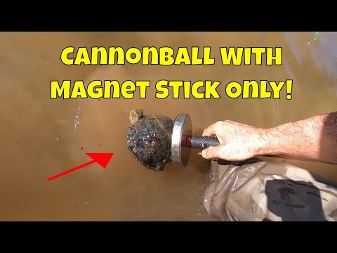 Magnet Fishing With New Magnet Fishing Magstik And A Super Magnet