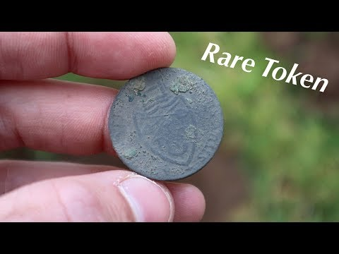 Found Rare Token and Old Coins – Metal Detecting England