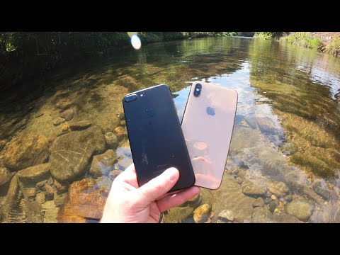 Found 2 iPhones Underwater In The River While Metal Detecting