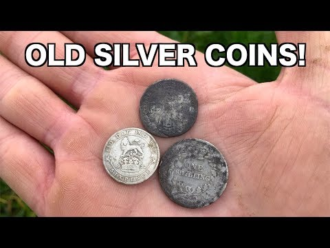 323 YEAR OLD Silver Found In Farm Field | Metal Detecting