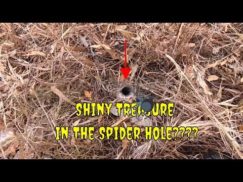 Australian Spider Hole And Metal Detecting Adventure