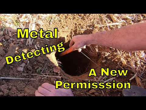 Metal Detecting A Civil War Camp And New Permission