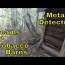 Metal Detecting And Exploring A Stream And Abandoned Tobacco Barn